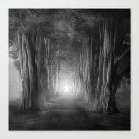 Black And White - Dreams… Canvas Print