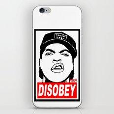 Disobey Cube iPhone & iPod Skin