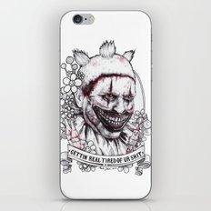 xoxo Twisty iPhone & iPod Skin