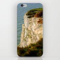 Bright White Cliffs  iPhone & iPod Skin