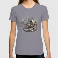 Zahn Der Zeit - Ravages … Womens Fitted Tee Slate SMALL
