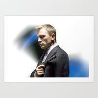 Daniel Craig As James Bo… Art Print