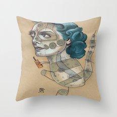 SUGAR DRAGON Throw Pillow