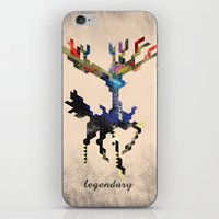 I Am Legendary X - Geometric iPhone & iPod Skin