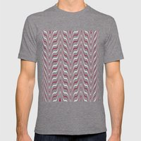 Red Zebra Mens Fitted Tee Tri-Grey SMALL