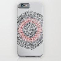iPhone & iPod Case featuring Vacancy Zine Mandala I A by Felipe B. C. Gama