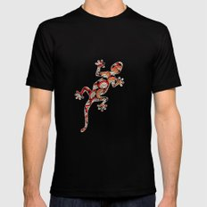 C13 GECKO 3 Mens Fitted Tee Black SMALL