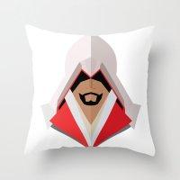 Ezio Auditore Throw Pillow