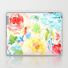 Abstract Flowers 06 Laptop & iPad Skin