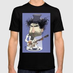 Bob Dylan SMALL Black Mens Fitted Tee