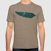 Shablamers Mens Fitted Tee Tri-Coffee SMALL