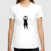 Say Anything Womens Fitted Tee White SMALL
