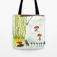 The Mission of Instant Noodles Tote Bag