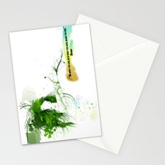 Women with design Stationery Cards