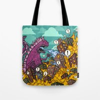 Atomic Fire Attack GO! Tote Bag