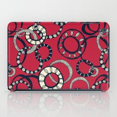 Honolulu hoopla red iPad Case