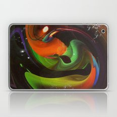 An Alien Orange Laptop & iPad Skin