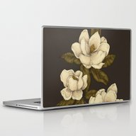 Laptop & iPad Skin featuring Magnolias by Jessica Roux