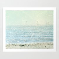These Summer Days Art Print