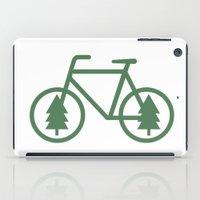 Pacific Northwest Cycling - Bike, Bicycle, Portland, PDX, Seattle, Washington, Oregon, Portlandia iPad Case