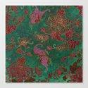 Chrysanthemum Garden Canvas Print