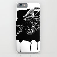 iPhone & iPod Case featuring They're coming outta the fucking walls by D.N.A.