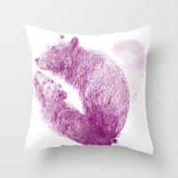 Bear Your Heart Throw Pillow