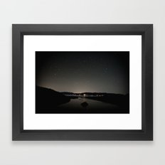 Catching Stars Framed Art Print