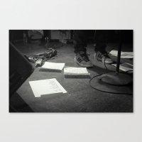 Eddie Vedder Concert Set… Canvas Print
