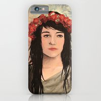 iPhone & iPod Case featuring Tea Lady by alison dillon art