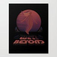 Well Beyond Canvas Print