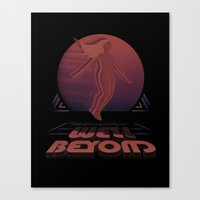 Well Beyond Canvas Print
