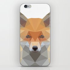 Fox Abstract Low Poly iPhone & iPod Skin