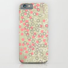 Dots and Rings-Neutral Slim Case iPhone 6s