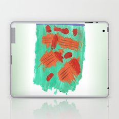 Traces on a grass... Laptop & iPad Skin
