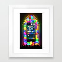 iChurch Framed Art Print