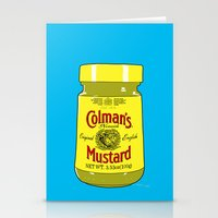 Proper Mustard Stationery Cards