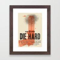 Die Hard (Full Poster Va… Framed Art Print
