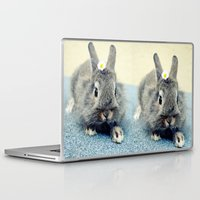 bunny Laptop & iPad Skins featuring Bunny by Falko Follert Art-FF77