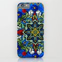 Lighted Rose Window Collage iPhone & iPod Case