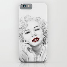 Michelle Williams as Marilyn iPhone 6 Slim Case