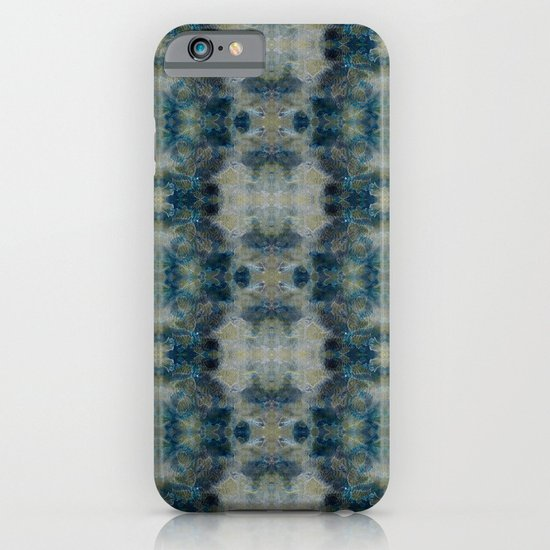 Dark Blue kaleidoscopic iPhone & iPod Case