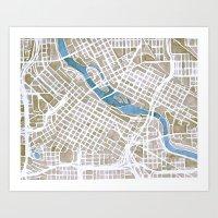 Minneapolis, Minnesota C… Art Print