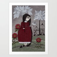 Winterbird, Or Hope Is A… Art Print