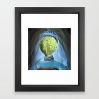 Windsbraut Framed Art Print