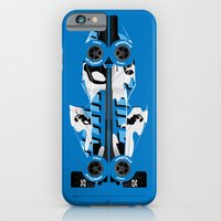 Martin Brundle, Ligier JS39-Renault, 1993 Japanese Grand Prix, Hugo Pratt livery iPhone 6 Slim Case