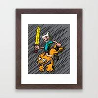 Time Bomb! Framed Art Print