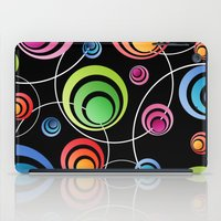 Circles In Circles. iPad Case