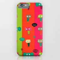 iPhone & iPod Case featuring Little friends by Rita Acapulco