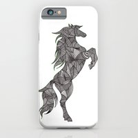 iPhone & iPod Case featuring HORSE by silb_ck
